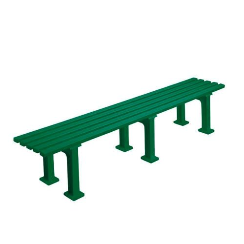 Tegra Bench 2m Without Armkrest - Green