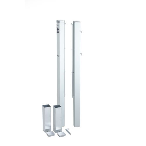 Tegra ASS Tennis Net Posts - Silver