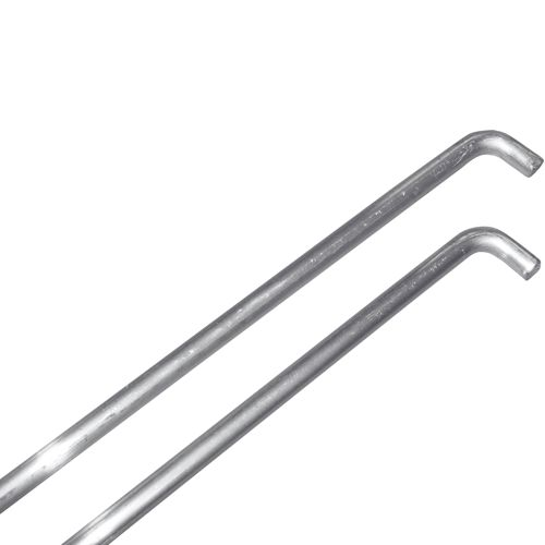Tegra Net Holder Rod In A Double-pack - Silver
