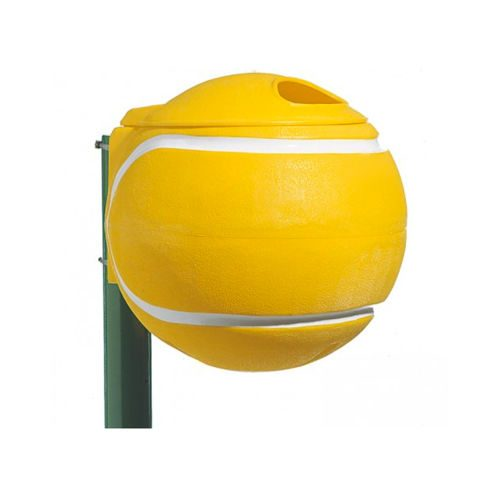 Tegra Waste Container Tennis Ball - Green