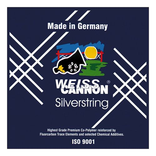 Weiss Cannon Silverstring String Set 12m - Silver