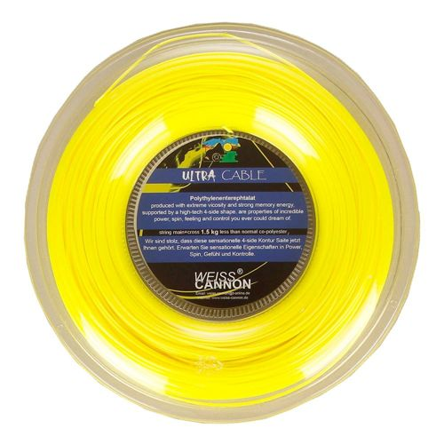 Weiss Cannon Ultra Cable String Reel 200m - Yellow