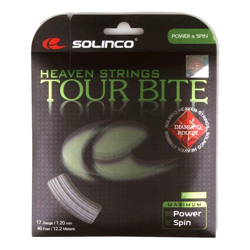 Solinco Tour Bite Diamond Rough String Set 12,2m - Silver