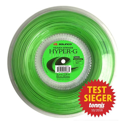Solinco Hyper-G String Reel 200m - Green
