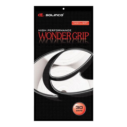 Solinco Wonder Grip 30 Pack - White