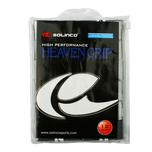 Solinco Heaven Grip 12 Pack - Grey