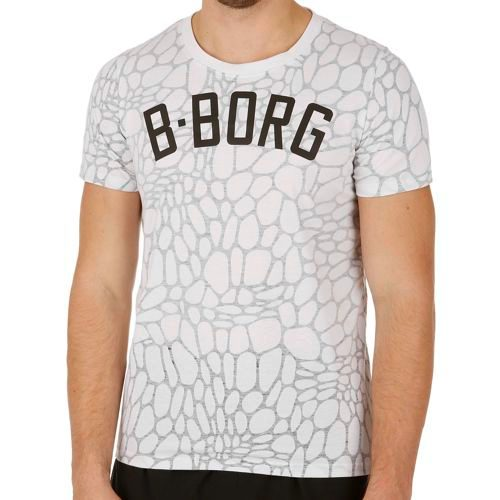 Björn Borg Sportswear Son T-Shirt Men - White, Grey