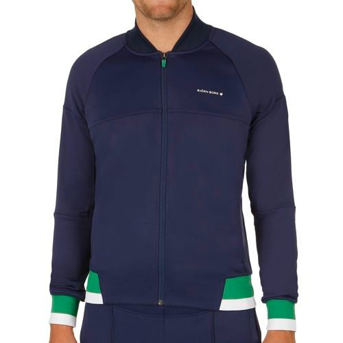 Björn Borg Performance Tristen Fullzip Training Jacket Men - Dark Blue, Green