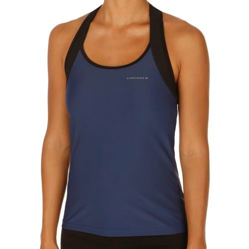 Björn Borg Performance Payton Tank Top Women - Dark Blue, Black