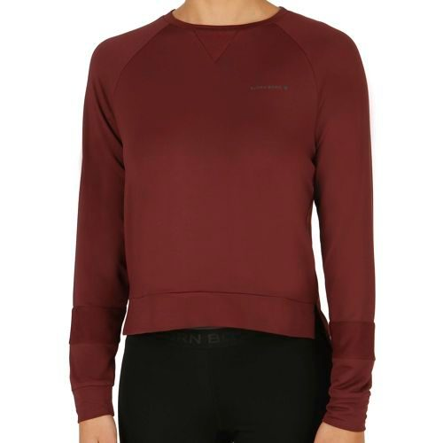Björn Borg Paulina Long Sleeve Women - Dark Red
