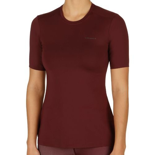 Björn Borg Page T-Shirt Women - Dark Red
