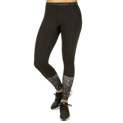 Björn Borg Phoebe Training Pants Women - Black, White