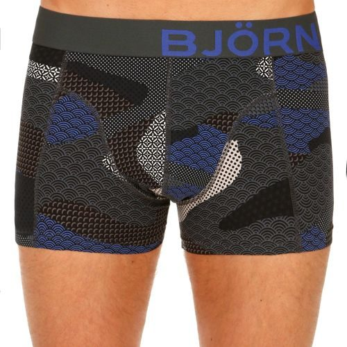 Björn Borg Contrast Camo Boxer Shorts Men - Black, Blue