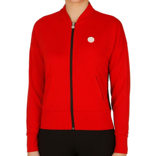 Björn Borg Signature Collection 81 Training Jacket Women - Red, Black