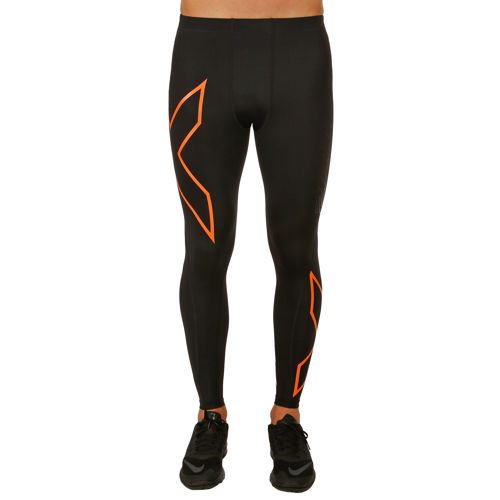 2XU TR2 Compression Pants Men - Black, Orange