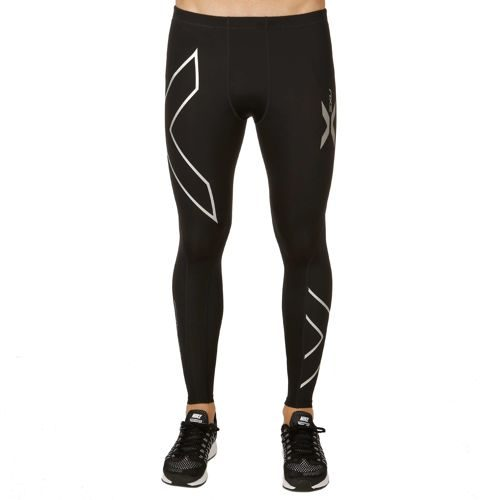 2XU XForm Compression Pants Men - Black, Silver