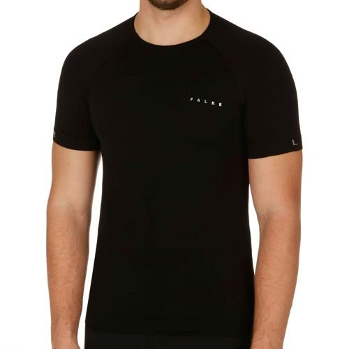 Falke Shortsleeve Shirt Underwear Men - Black