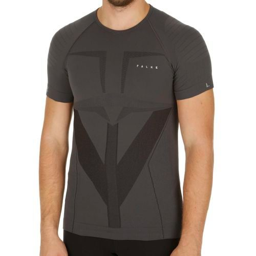 Falke Shortsleeve Shirt Underwear Men - Grey