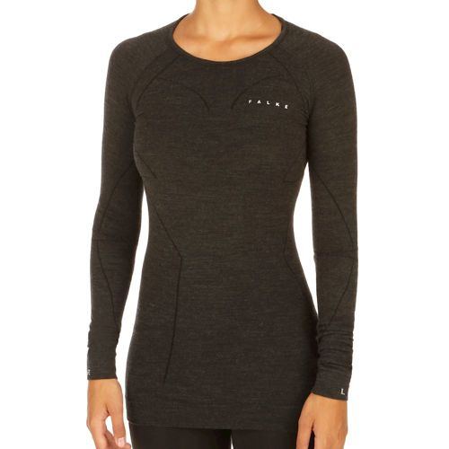 Falke Comfort Wool Tec Warm Long Sleeve Women - Black