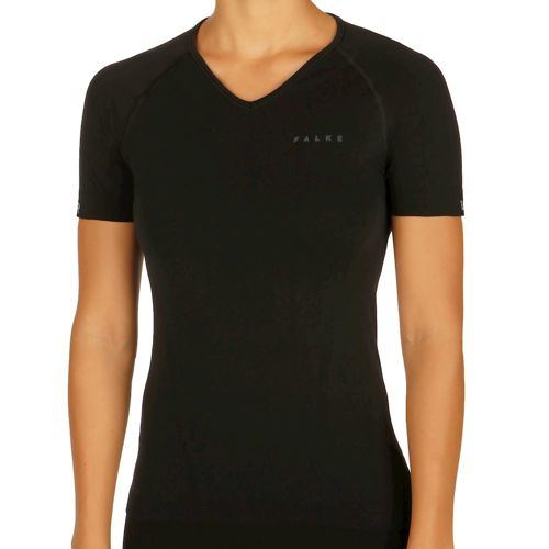 Falke Comfort Warm Short Sleeve Women - Black