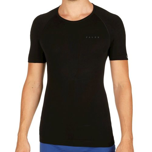Falke Tight Fit Warm T-Shirt Men - Black