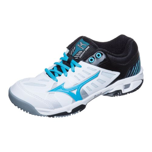 Mizuno Wave Exceed SL AC All Court Shoe Women - White, Light Blue