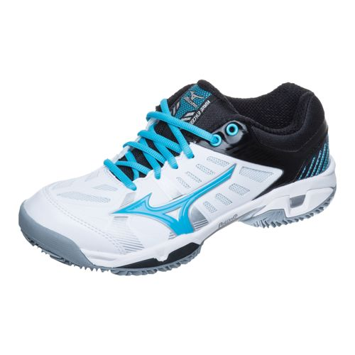 Mizuno Wave Exceed SL CC Clay Clay Court Shoe Women - White, Light Blue