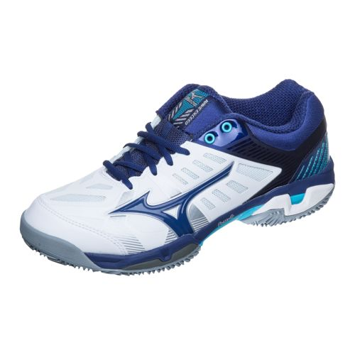 Mizuno Wave Exceed SL CC Clay Clay Court Shoe Men - White, Blue