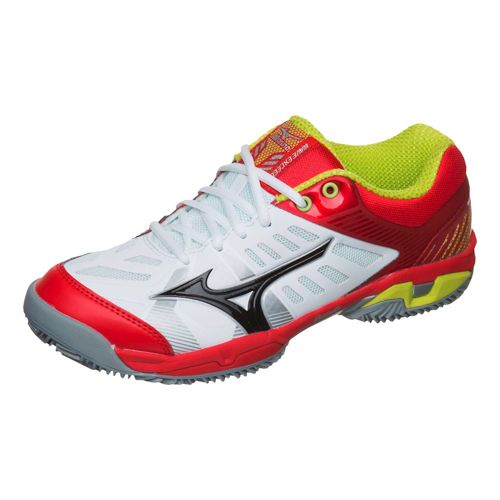 Mizuno Wave Exceed Tour 2 Clay Clay Court Shoe Men - White, Red