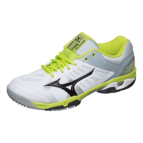 Mizuno Wace Exceed SL AC All Court Shoe Men - White, Light Green