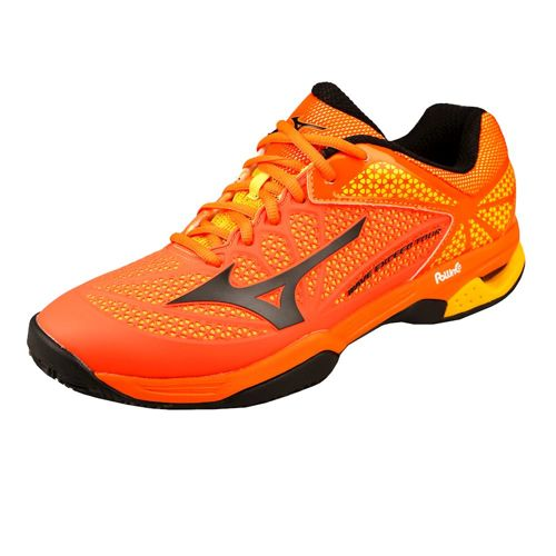 Mizuno Wave Exceed Tour 2 Clay Clay Court Shoe Men - Orange, Black