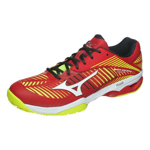 los angeles fbb03 df54a Mizuno Wave Exceed Tour 3 CC Clay Court Shoe Men - Red, Yellow ...