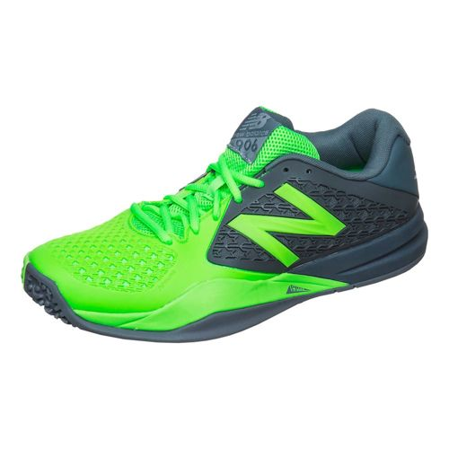 New Balance MC906 V2 All Court Shoe Men - Grey, Green