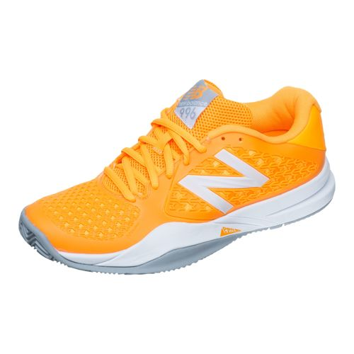 New Balance 996 V2 Clay Clay Court Shoe Women - Orange, Grey