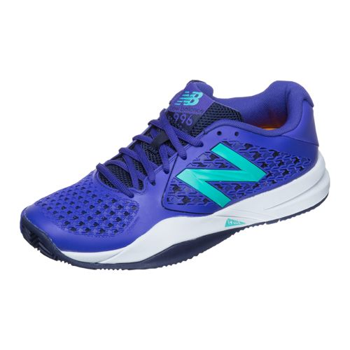 New Balance 996 V2 Clay Clay Court Shoe Women - Violet, Turquoise