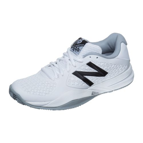 New Balance 996 V2 Clay Court Shoe Women - White, Black