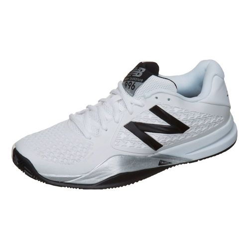 New Balance 996 V2 Clay Court Shoe Men - White, Black
