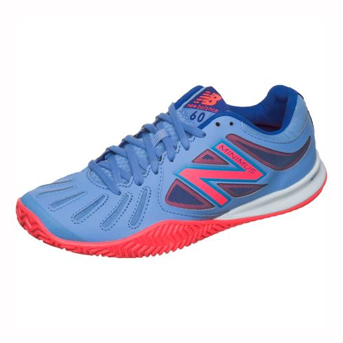 New Balance Minimus 60 V1 Clay Court Shoe Women - Blue, Red