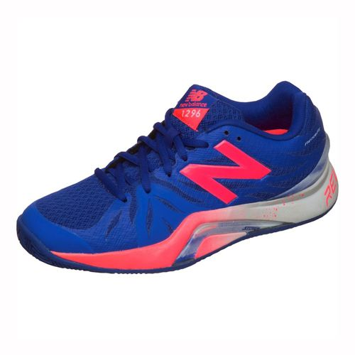 New Balance 1296 V2 Clay Court Shoe Women - Blue, Red