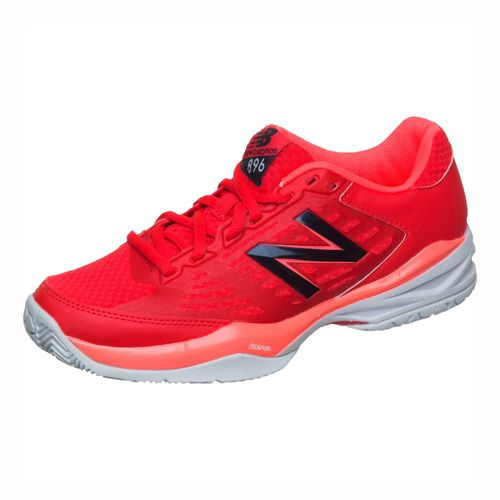 New Balance 896 V1 Clay Court Shoe Women - Red, White