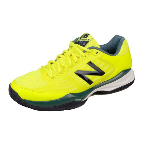 New Balance 896 V1 Clay Court Shoe Men - Yellow, Blue