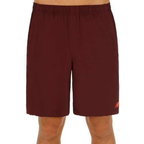 New Balance Tournat 9 In Shorts Men - Red