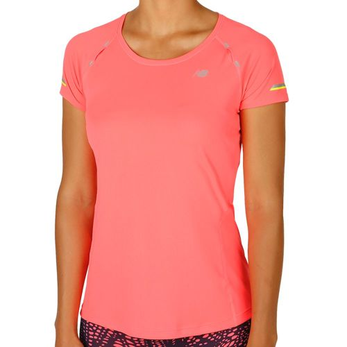 New Balance Ice Short Sleeve Women - Pink