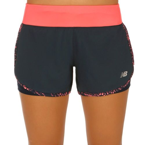 New Balance Impact 4 Inch 2in1 Shorts Women - Pink, Black