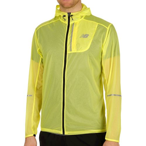 New Balance Lite Packable Running Jacket Men - Neon Yellow