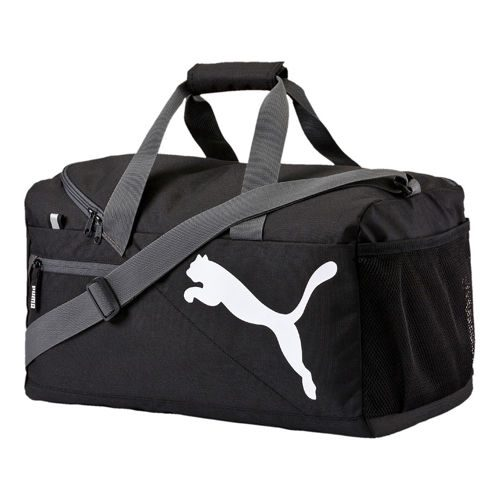 Puma Fundamentals Sports Bag S - Black, White