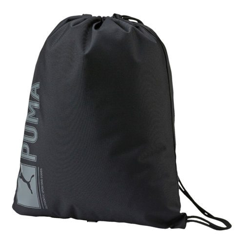 Puma Pioneer Gym Sports Bag - Black, Grey