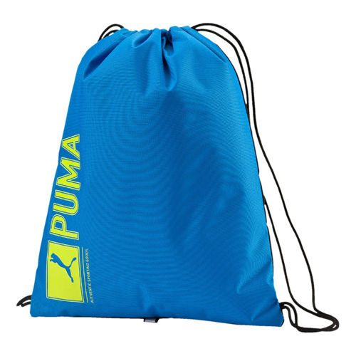 Puma Pioneer Gym Sports Bag - Blue, Light Green