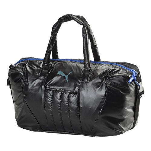 Puma Fit AT Workout Sports Bag - Black, Dark Blue