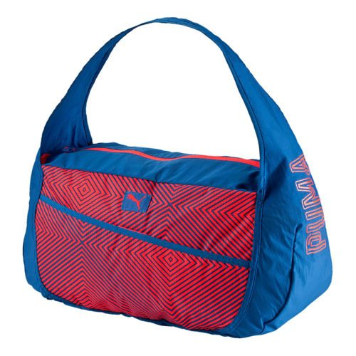 Puma Studio Barrel Sports Bag - Blue, Red